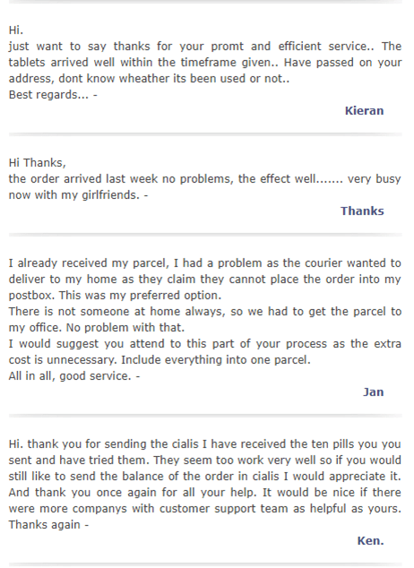 Texas Chemist Customer Testimonials
